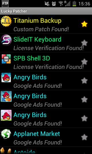 دانلود نرم افزار کرک اندروید lucky patcher v3.1