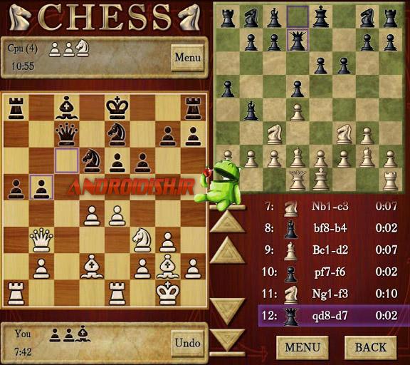 دانلود بازی شطرنج اندروید  Chess 1.64