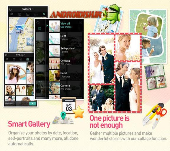 دانلود نرم افزار عکسبرداری و ویرایش Cymera – Camera & Photo Editor 1.3.7