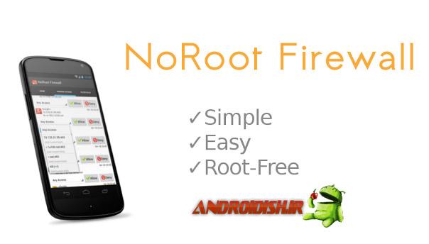 دانلود برنامه فایروال NoRoot Firewall برای اندروید