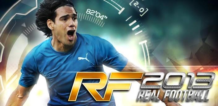 دانلود بازی زیبای فوتبال گیم لافت Real Football 2013