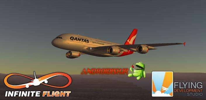 دانلود شبیه ساز پرواز  1.0 Infinite Flight v برای اندروید