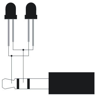 آموزش ساخت انفرارد خارجی موبایل External infared with audio jack 3.5 mm