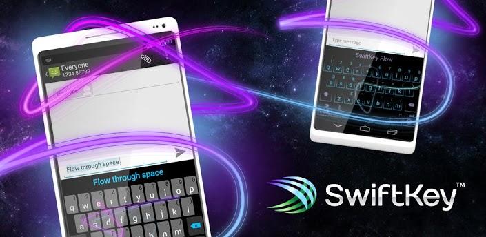 دانلود صفحه کلید فوق العاده اندروید Swift Key Full V4.0.1.128