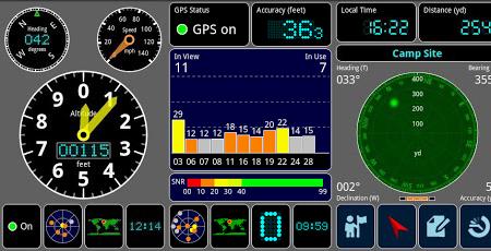 برنامه تست GPS اندروید GPS test plus v1.2.1