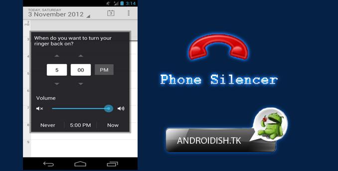 دانلود برنامه Phone Silencer V 1.2.5