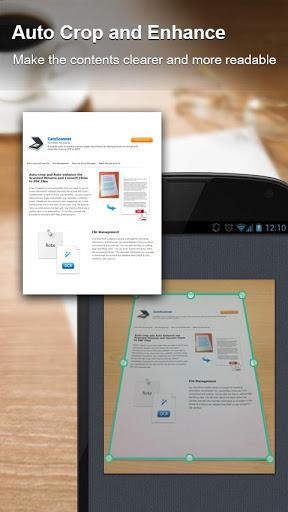 دانلود بهترین برنامه اسکن برای اندروید CamScanner – Phone PDF Creator 2.0.1.20130308 Full